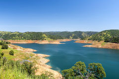 Abandoned sand quarry Royalty Free Stock Images