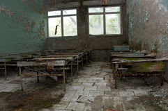 Abandoned school Royalty Free Stock Photo