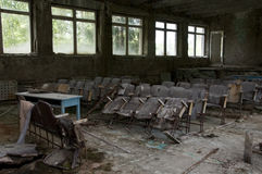 Abandoned school Royalty Free Stock Photos