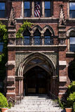 Abandoned School for Boys - Ornate Exterior - New York Royalty Free Stock Photography