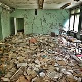 Abandoned school Stock Images