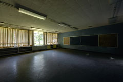 Abandoned School Classroom Stock Images