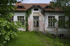 Abandoned school in the countryside Stock Photography
