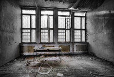 The abandoned school Royalty Free Stock Photos
