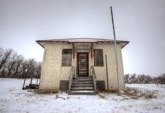 Abandoned School House Stock Photo