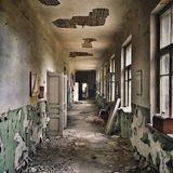 Abandoned school Royalty Free Stock Images