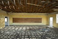 Abandoned Schoolhouse Classroom Royalty Free Stock Photos