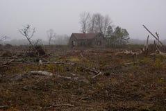Abandoned Schoolhouse Stock Image