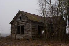 Abandoned Schoolhouse Stock Photo