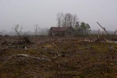 Abandoned Schoolhouse Royalty Free Stock Image