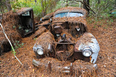 Abandoned Scrap Car Royalty Free Stock Photo