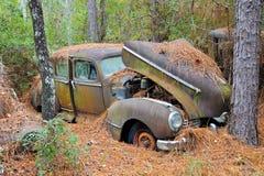 Abandoned Scrap Car Royalty Free Stock Photo