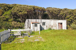 Abandoned Settlement on a Remote Island Royalty Free Stock Photos