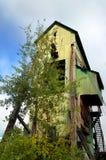 Abandoned Shaft House Stock Image
