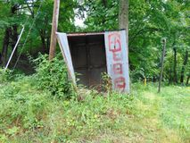 Abandoned Shed. Random abandoned shed in West Virginia Royalty Free Stock Images