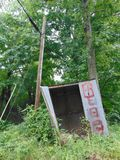 Abandoned Shed. Random abandoned shed in West Virginia Royalty Free Stock Photography
