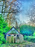 Abandoned shed Royalty Free Stock Photography