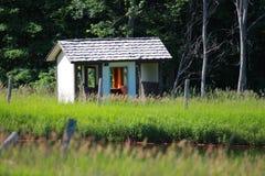 Abandoned shelter Stock Photo