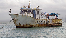 Free Abandoned Ship 1 Royalty Free Stock Photos - 25431328