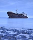 Abandoned ship. Stock Photos