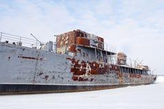 Abandoned ship Royalty Free Stock Image