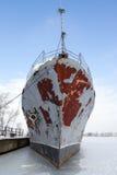 Abandoned ship Royalty Free Stock Photography