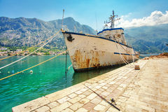 Abandoned ship Stock Images