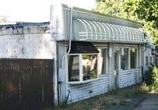 Abandoned shop Royalty Free Stock Photography