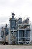 Abandoned silos Royalty Free Stock Image