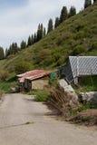 Abandoned ski resort Royalty Free Stock Image