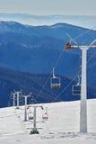 Abandoned ski slope Stock Images