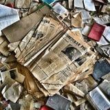 Abandoned skolar Arkivfoto