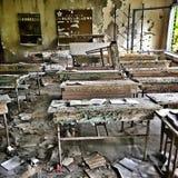 Abandoned skolar Royaltyfria Foton