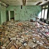 Abandoned skolar Arkivbilder