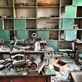 Abandoned skolar Fotografering för Bildbyråer