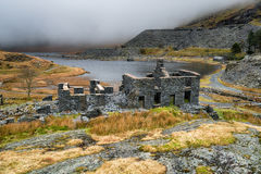 Abandoned Slate Quarry in Wales Royalty Free Stock Image