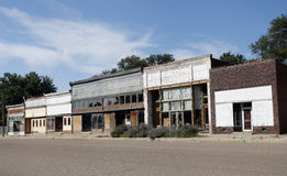 Abandoned Small Town America Royalty Free Stock Photography