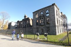 Smallpox Hospital royalty free stock images