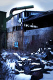Abandoned Smelting Plant Stock Photos