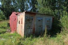Abandoned soda water machine Stock Photos