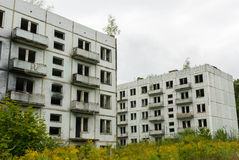 Abandoned Soviet Barracks Stock Photos