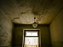 Abandoned soviet canteen Stock Photo