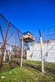 Abandoned Soviet time prison Royalty Free Stock Photo