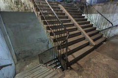 Abandoned stairs Stock Image