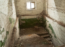 Abandoned stairs Royalty Free Stock Image
