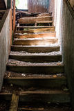Abandoned Stairs Royalty Free Stock Photography