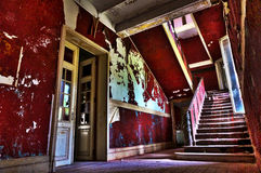 The abandoned stairway Royalty Free Stock Image