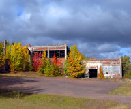Abandoned Stamp Mill Stock Photography