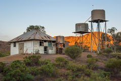 Abandoned station in the Australian Outback Royalty Free Stock Photo