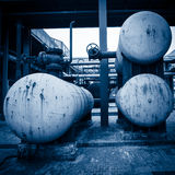 Abandoned steel mill Royalty Free Stock Photos